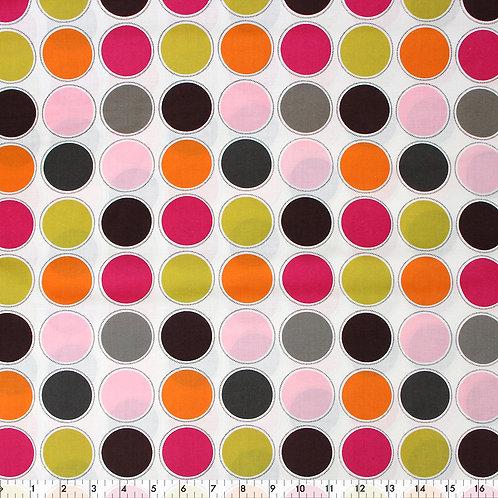 Multi dot cotton print