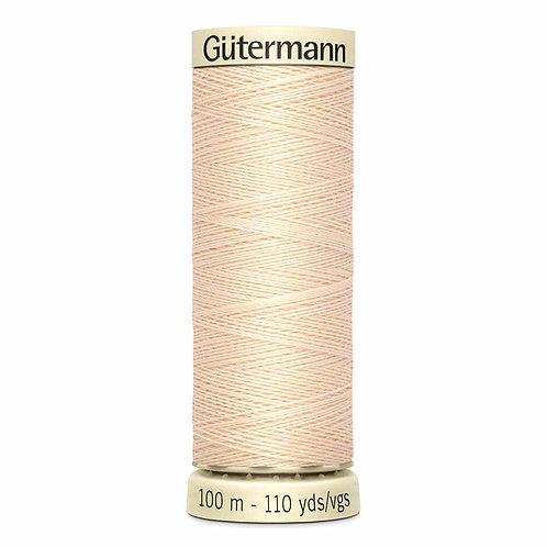 Gutermann 100m Sew All Thread - Code 501