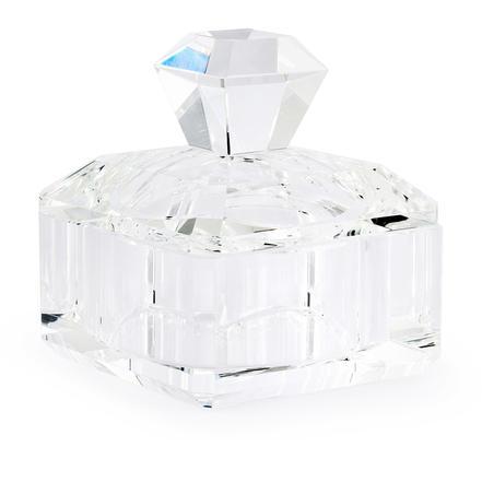 Princess cut crystal box