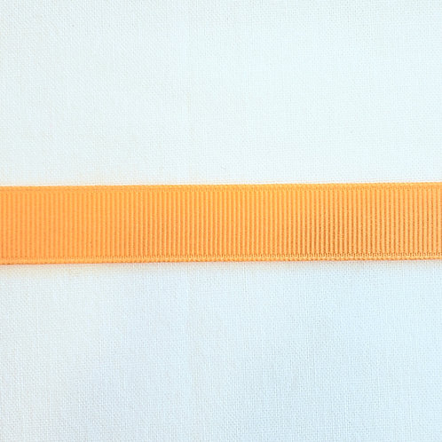Grosgrain Ribbon - Light Orange - 1 Yard - 2 Widths