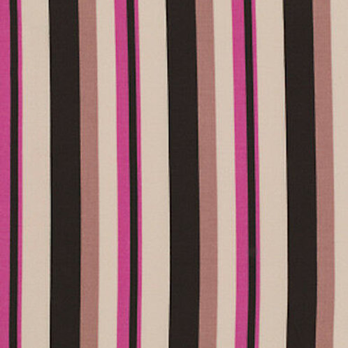 Wide Stripe - Mushroom by Denyse Schmidt