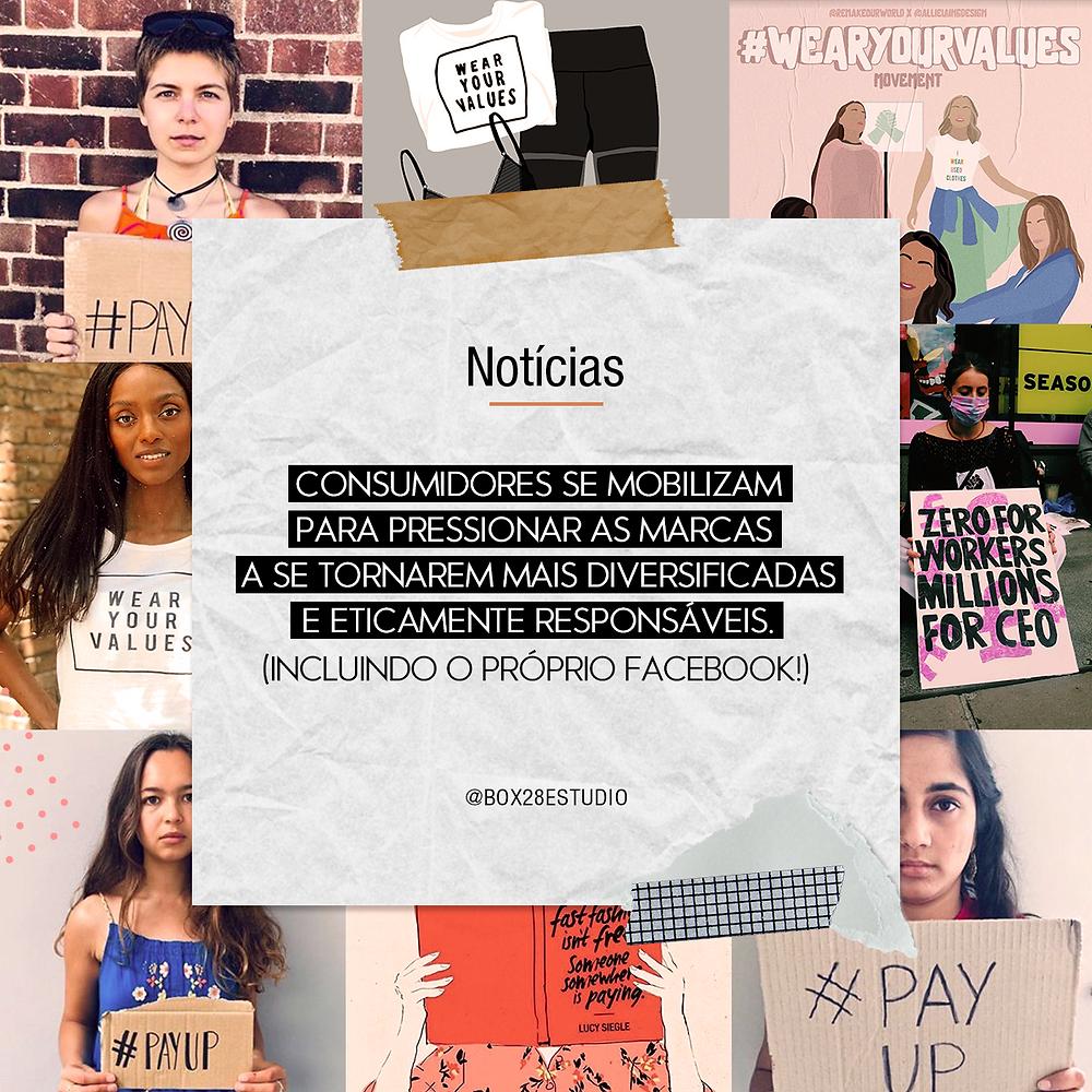Movimentos ativistas nas redes sociais