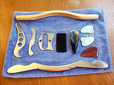 Gua Sha Tools at Level Up Massage in Queen Anne Wasington
