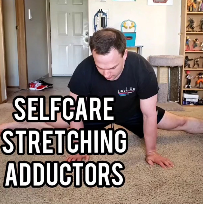 Selfcare: Stretching for Legs