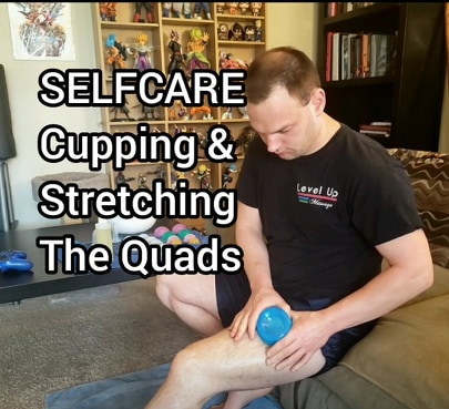 Selfcare: Cupping Legs