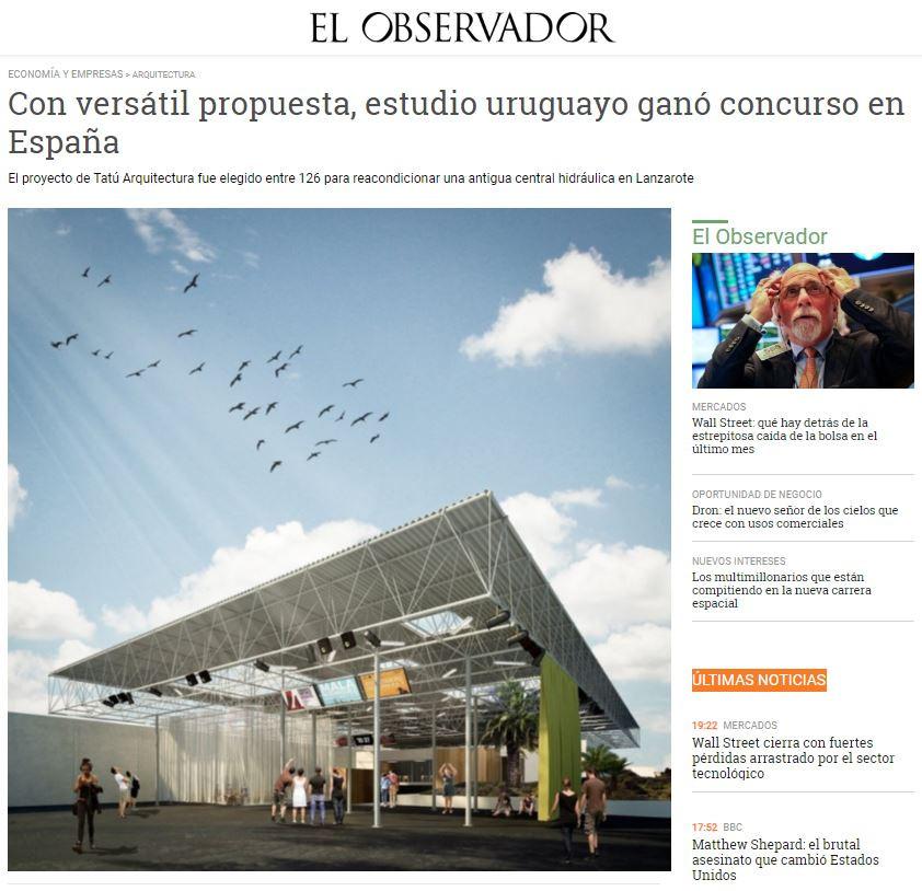 Con versátil propuesta, estudio uruguayo ganó concurso en España
