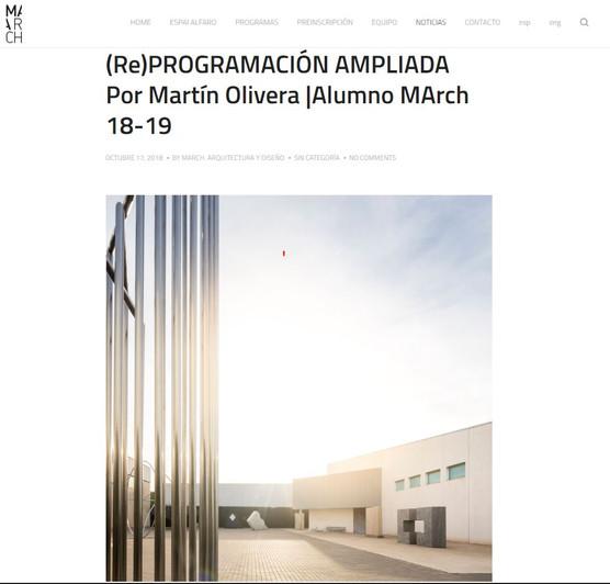 (Re)PROGRAMACIÓN AMPLIADA