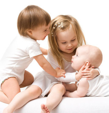 Photo of young children