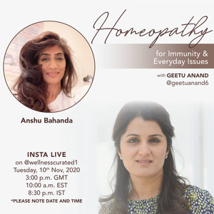 Instagram Live: Homeopathy for immunity and everyday issues