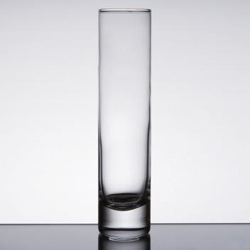 Champagne Cylinder Vase .85 each