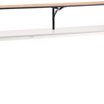 Kenwood 96'' x 12'' x 12'' Birchwood Bar Top Riser (18.00 each)