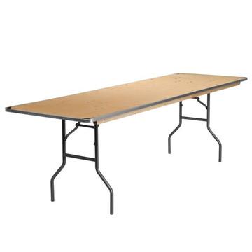 Kenwood 30'' x 96'' Rectangular HEAVY DUTY Birchwood Folding Banquet Table (12.95 each)