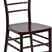 Resin Mahogany Chiavari Chair with free cushion choice (4.50 each)