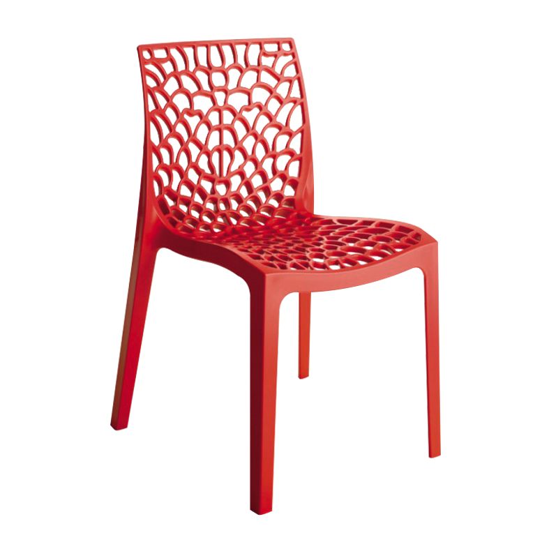Chaise Bee Red profil