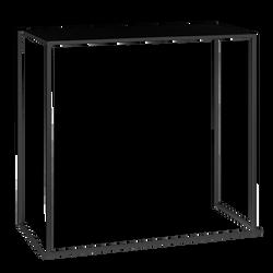 Table haute Jack noire