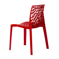 Chaise Bee Red dos