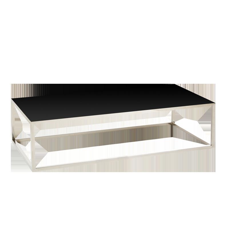 Table basse Milan noire