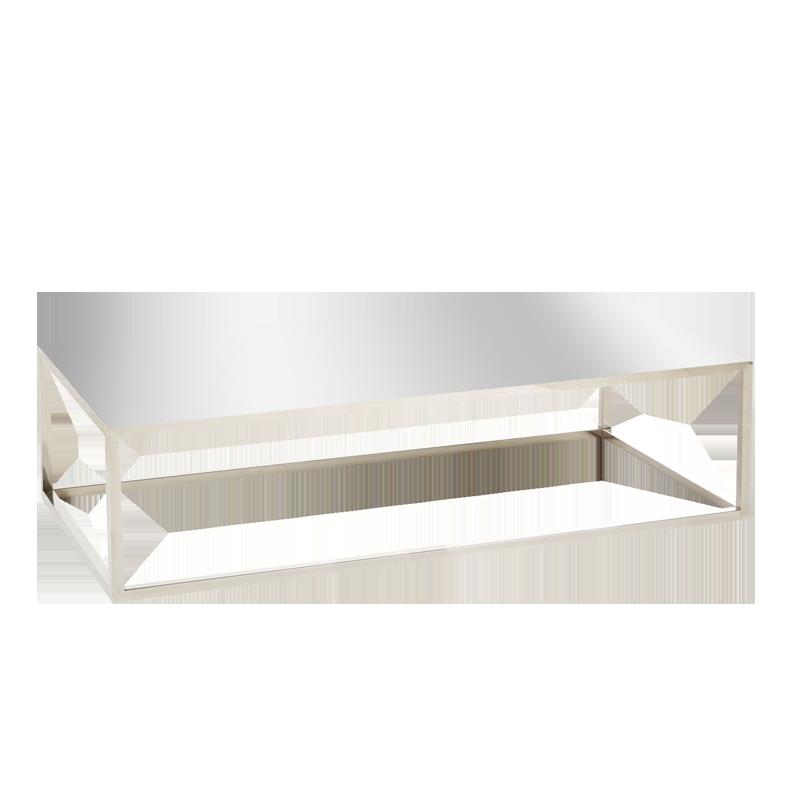 Table basse Milan miroir