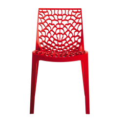 Chaise Bee Red face