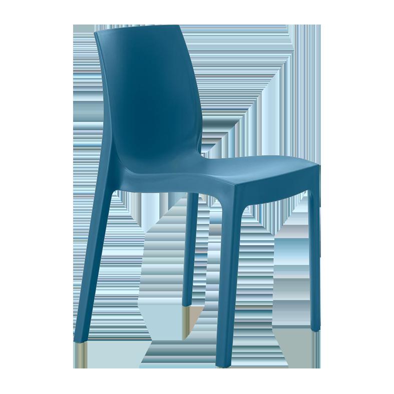 Chaise Victoire bleue