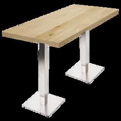 Table haute Nox chêne