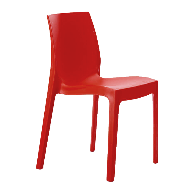 Chaise Victoire rouge