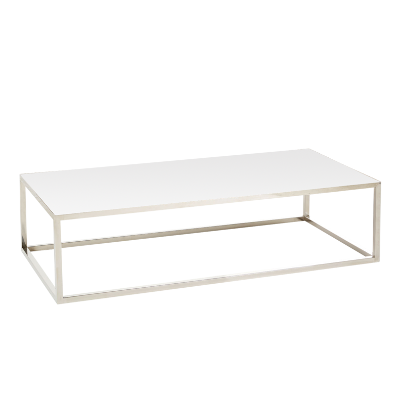 Table basse Milan blanche