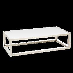 Table basse Milan blanche