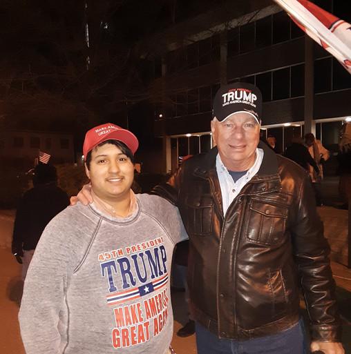 Me and State Senator Jim Tomes