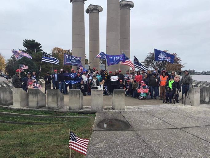 Trump Rally in Evansville