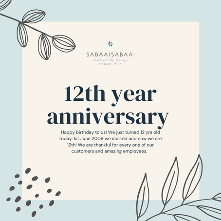 We turned 12th! 🥳
