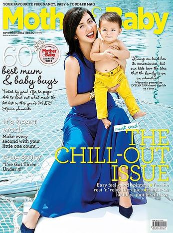 Mother and baby magazine Award winning spa