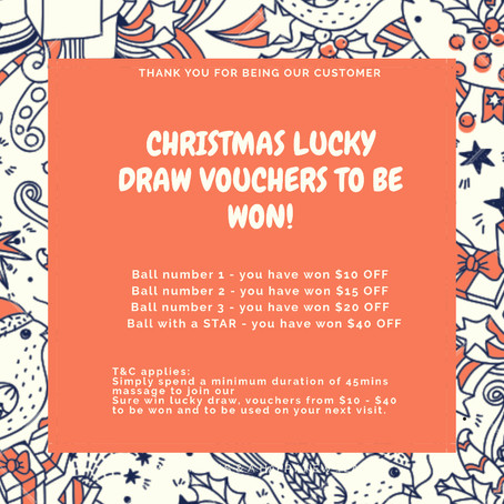 Our Christmas Lucky Draw is Back!