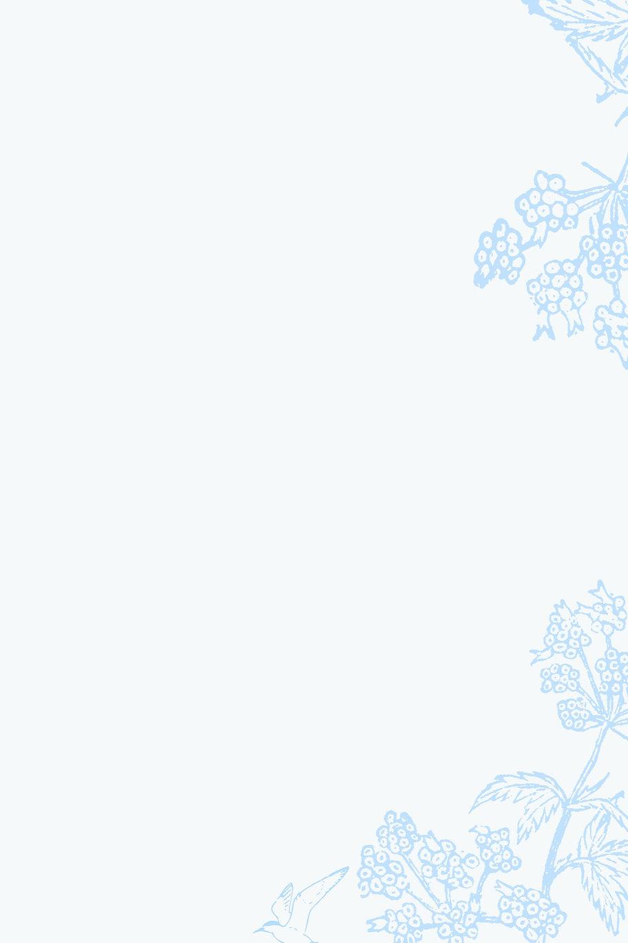 Blue flower background