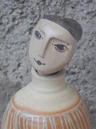 Flacon Dame grand modèle à décor de rayures