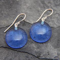 Boucles-d-oreilles-en-verre-bleu-bleuet-