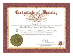 Spiritual Minister