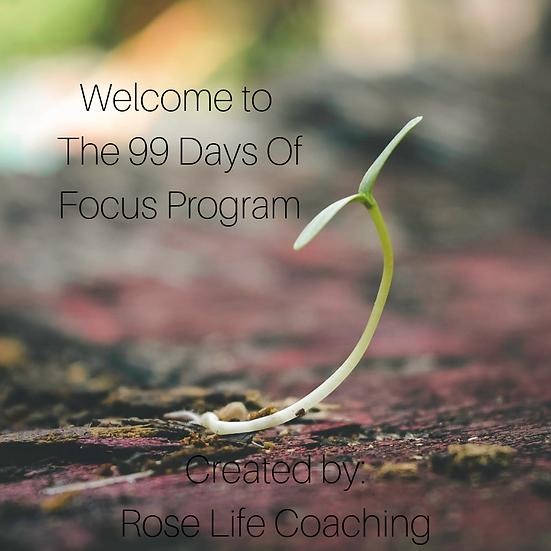 99 Days Of Focus Program
