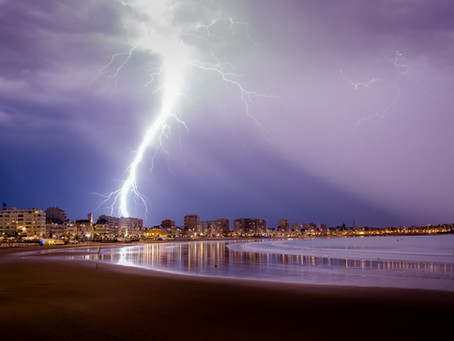 Soir d'orage en Vendée