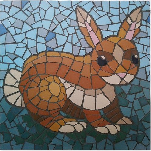 """Easter Bunny"" DIY Mosaic Kit"