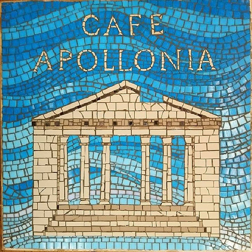 Cafe Apollonia - Mosaic Comission