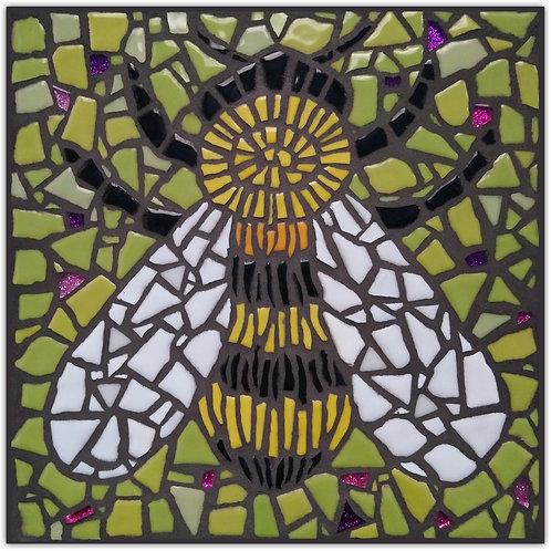 """""""Just Bee"""" May Green DIY Mosaic Kit"""