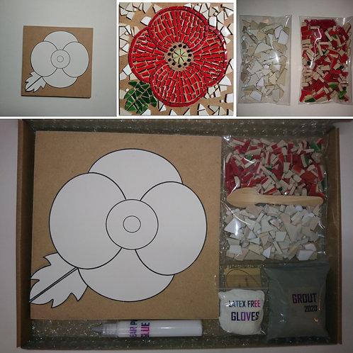 Poppy DIY Mosaic Kit