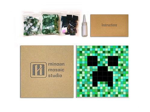 Pixelated Face DIY Mosaic Kit