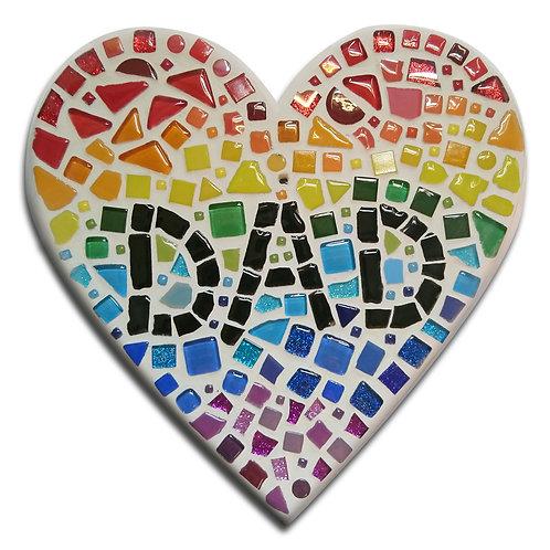Father's Day DIY Mosaic Kit DIY Mosaic Kit