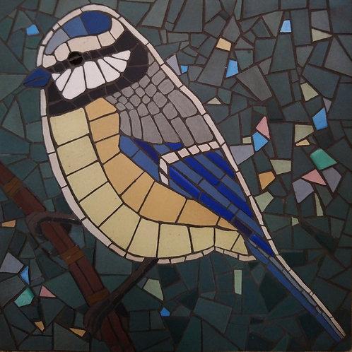 """Blue Tit """"DIY Mosaic Kit"""