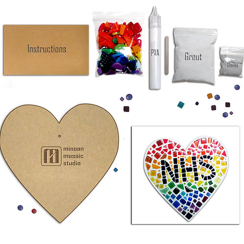 Love NHS DIY Mosaic Kit
