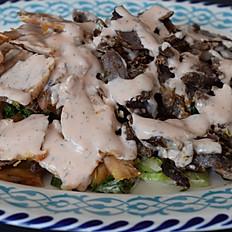 Mixed(Beef & Chicken) Shawarma Garden Salad