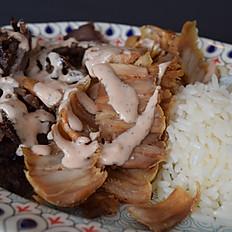 Rice Top Mixed Shawarma