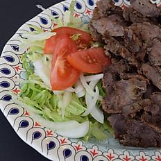 Beef Shawarma  Garden Salad